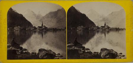 151.-Le Bristenstock et le Lac d'Uri Fluelen. Suisse.