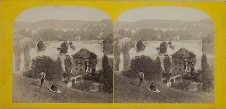 168.-La Chûte du Rhin Schaffhouse. Suisse. (1)