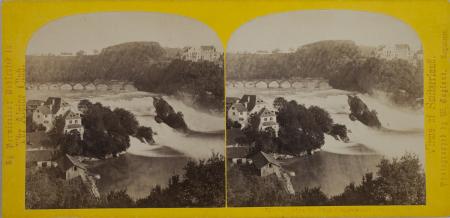 169.-La Chûte du Rhin Schaffhouse. Suisse. (2)