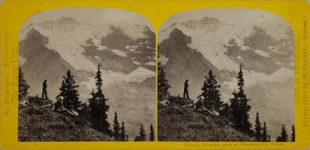 274.-La Jungfrau prise du Wengern-Alp. Suisse.