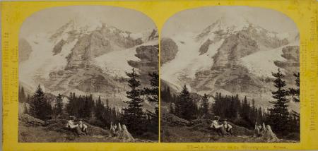 276.-Le Monch vu de la Wengern-Alp. Suisse.