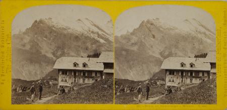282.-Hôtel du Silber-Horn à Mürren. Suisse.