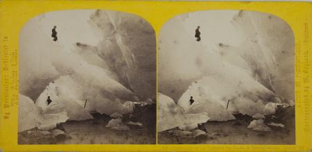 303.-Intérieur de la Caverne de Glace à Grindelwald. Suisse. (2)