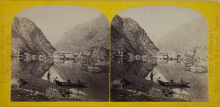 315.-L'Hospice et le Lac de la Grimsel. Suisse.