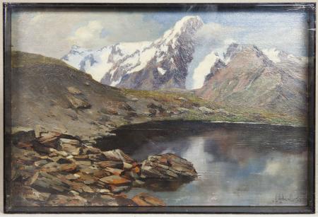 Lago Chaz Dura e M[ont]e Bianco