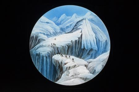 Crevice in Glacier du Tacconay 15
