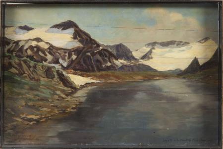 Lago Plan du Mont - Ghia[ccia]io des Chavannes