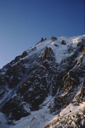 [Gruppo del Monte Bianco: Aiguille du Plan, Aiguille du Midi, Mont Blanc du Tacul]