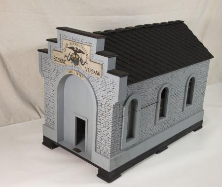 Modello architettonico della Sede di Intra della Sezione Verbano del Club alpino italiano