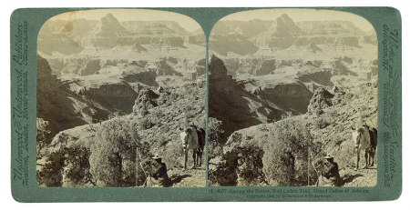 (6) 6077 - Among the Buttes, Red Cañon Trail, Grand Cañon of Arizona
