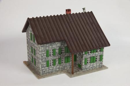 Modello architettonico del Rifugio Levi Molinari