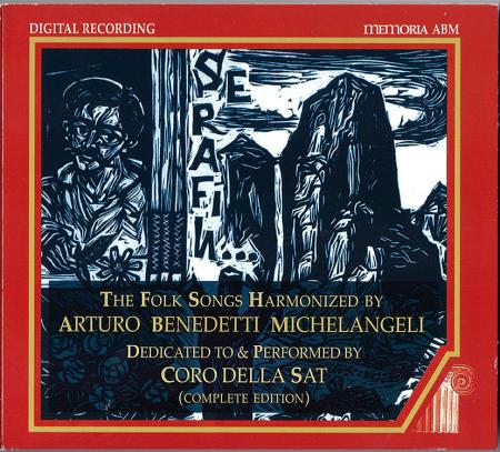 The folk song harmonized by Arturo Benedetti Michelangeli