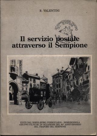 Il servizio postale attraverso il Sempione