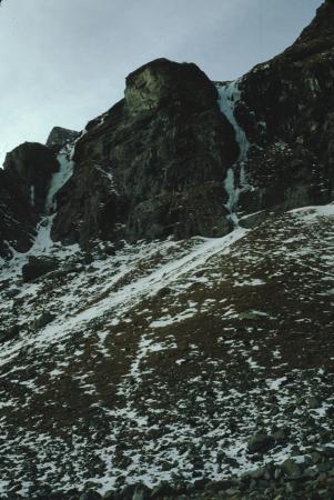 [Piemonte, Val d'Ala]: Cascata Sinuosa