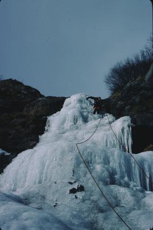 [Piemonte, Val di Susa]: Cascata a Y
