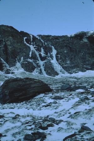[Piemonte, Val di Susa]: cascata della Meringa