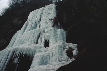 [Piemonte, Val Clarea: Cascata dell'Aria o dell'Insospettata Difficoltà]