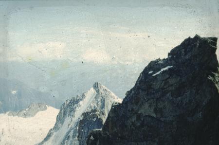 [Paesaggi del Massiccio del Monte Bianco: Tour Ronde, Goulotte Perroux]