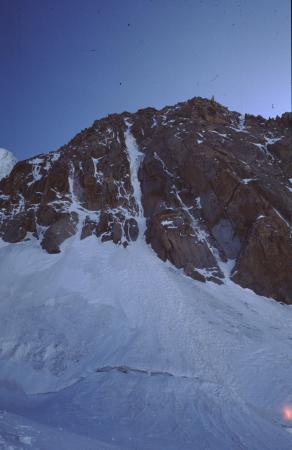 [Paesaggi e alpinismo su ghiaccio: Mont Blanc du Tacul, Goulotte Chèré]