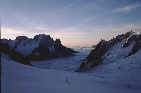 [Paesaggio del Monte Bianco]