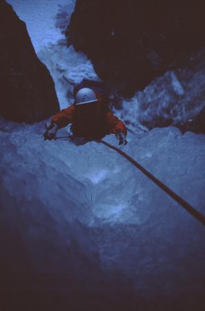 [Alpinisti in zona non identificata: Monte Bianco?]