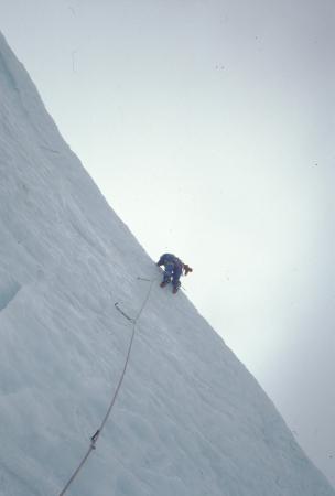 [Gruppo del Monte Bianco, Col du Trident: La psyche nelle nuvole ?]