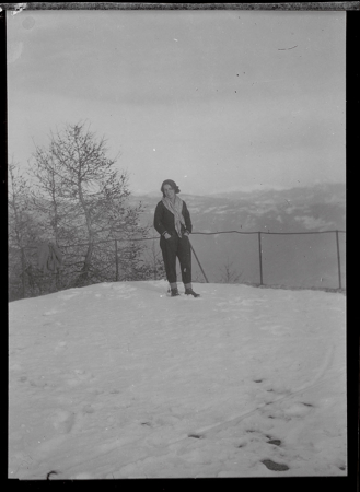 [Collezione del Dott. Mario Martinelli: ritratti in montagna e sulla neve]