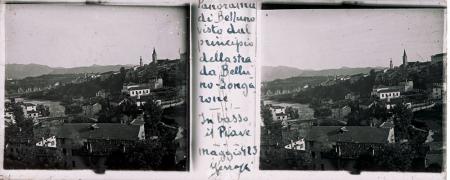 [Raccolta di lastre stereoscopiche delle Dolomiti: ritratti ambientati e paesaggi tra cui Lago di Misurina, Passo Falzarego e Tre Cime]