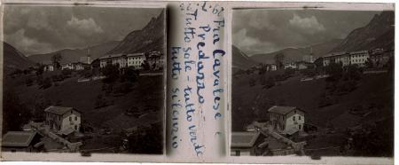 [Raccolta di lastre stereoscopiche delle Dolomiti: ritratti ambientati e paesaggi tra cui Val di Fiemme, Val Pusteria e Cadore]