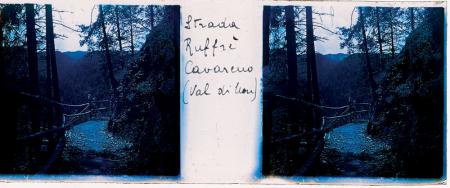 [Raccolta di lastre stereoscopiche delle Dolomiti: paesaggi tra cui Val di Fassa, Val di Non, Val di Vajolet, Valle Aurina]