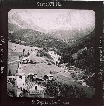 [Raccolta di diapositive delle Dolomiti e del Sudtirolo: paesaggi]
