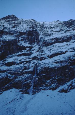 [Valle d'Aosta, Valle di Valeille: Cold Couloir]