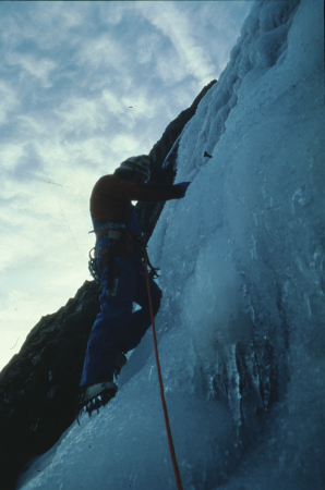 [Alpinisti sulla Cascade Saint Antoine]