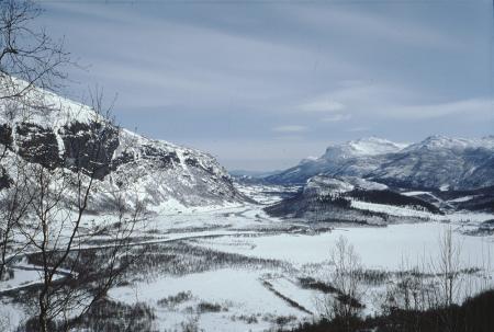 [Paesaggi e cascate di ghiaccio in Norvegia tra cui Fossen e Golge Uvette, Haugfossen]