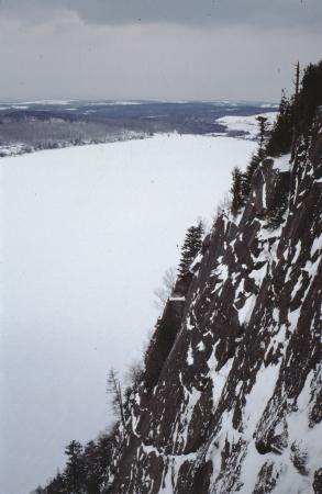 [Canada, Quebec: Via Gringalet sul Monte Pinacle]