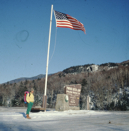 [Stati Uniti d'America, New Hampshire, Appalachian Mountain Club Pinkham Notch Camp: Gian Carlo Grassi ed altri]