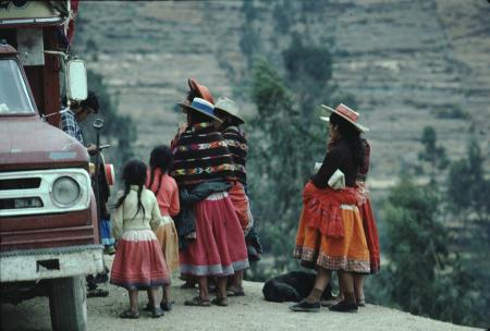 [Viaggio in Perù: località non identificate, ritratti]
