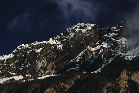 [Viaggio in Perù: Cordillera Blanca, Nevado Cayes]