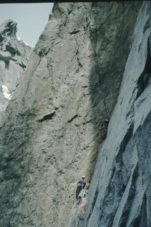 [Gruppo del Monte Bianco, Aiguille du Fou: Via Americana]