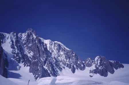 [Riprese del versante est del Mont Blanc du Tacul]