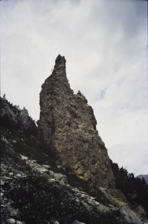 [Dolomiti di Valle Stretta: Tour Jaune de Barabbas]