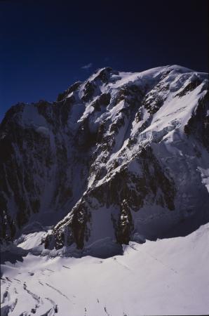 [Gruppo del Monte Bianco: spalla del Mont Blanc du Tacul]