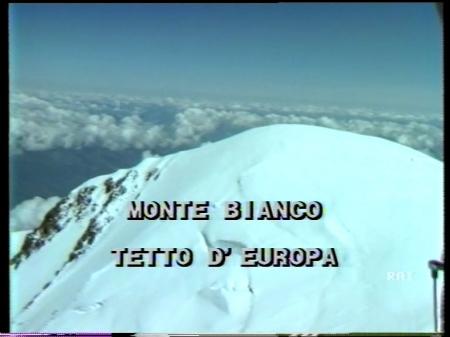 MONTE BIANCO TETTO D'EUROPA