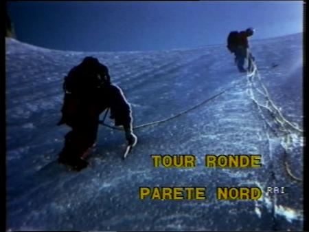 TOUR RONDE, PARETE NORD - A COME ALPINISMO