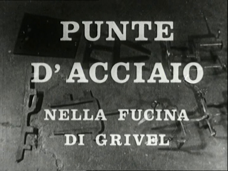 PUNTE D'ACCIAIO NELLA FUCINA DEI GRIVEL