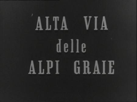 MONTE BIANCO ALTA VIA DELLE ALPI GRAIE