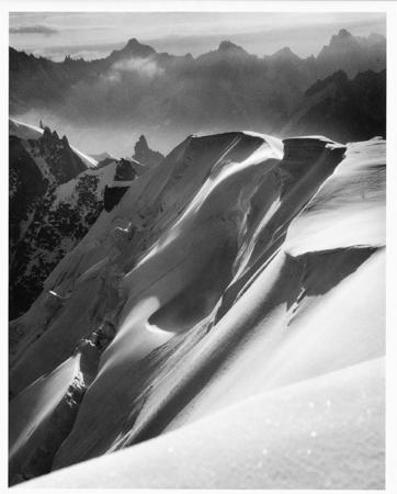 [Alba dall'Aiguille du Midi (Gruppo del Monte Bianco)]