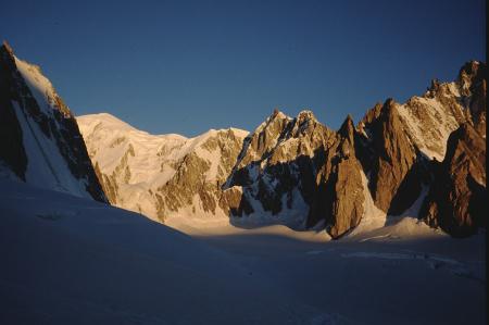 [Paesaggi di varie zone del Gruppo del Monte Bianco tra cui Mont Blanc du Tacul]