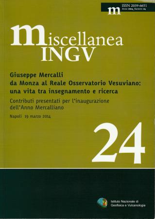 Giuseppe Mercalli da Monza al Reale Osservatorio vesuviano