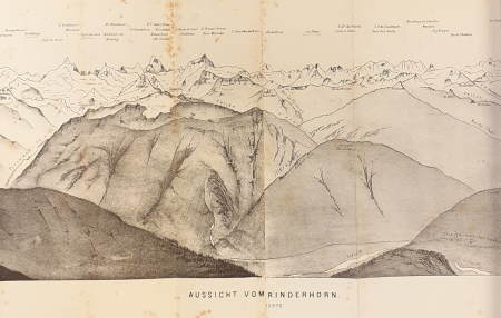 Aussicht vom Rinderhorn